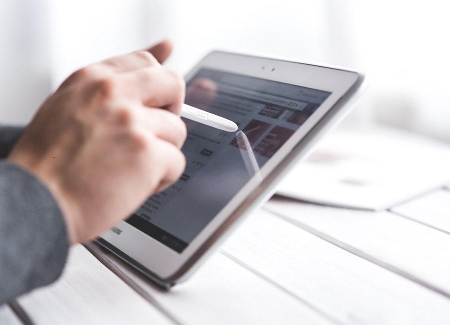 Tablet digital Hand