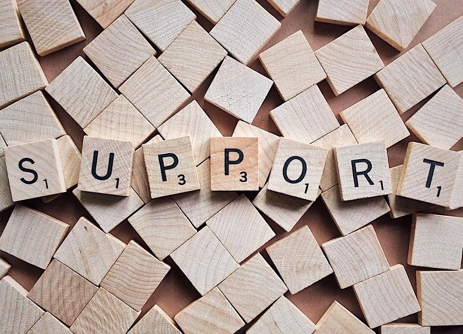 Support Steine